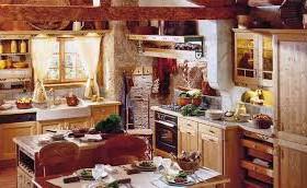Декорируем кухню в стиле кантри