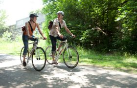Велосипедные прогулки помогают вылечить мигрень