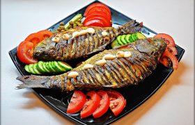 Жареная рыба провоцирует возникновение инсульта