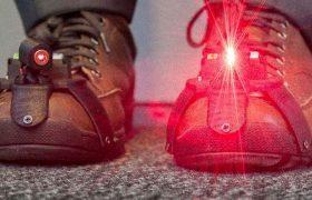 «Лазерная обувь» для людей с болезнью Паркинсона