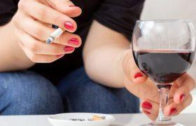 Сочетание алкоголя и сигарет особенно сильно разрушает мозг