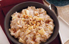 Овсяная мука на завтрак снижает риск инсульта